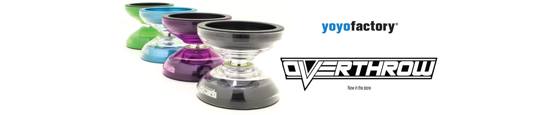 YoYoFactory Overthrow now in the store